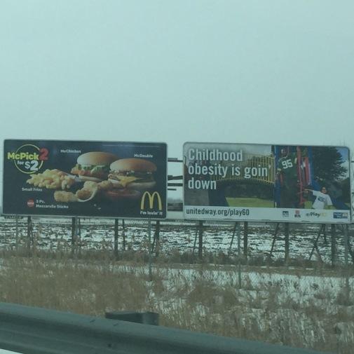 Burger Irony