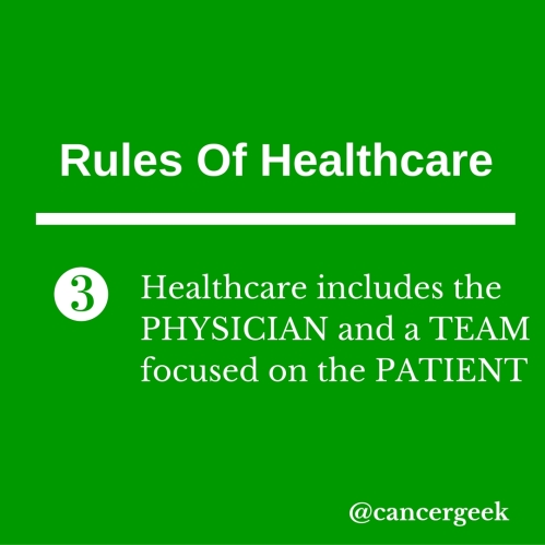 Rules Of Healthcare 3