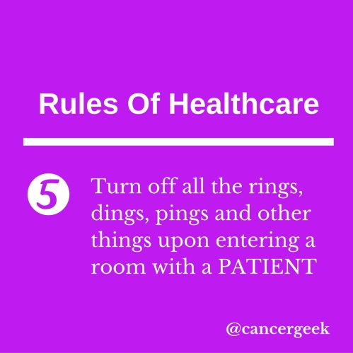 Rules Of Healthcare 5